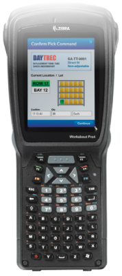 Zebra rugged industrial handheld terminals, vehicle mount computers, vehicle systems, barcodes, Africa